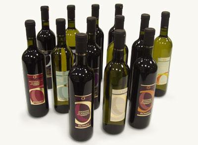 Produzione e stampa etichette per vini