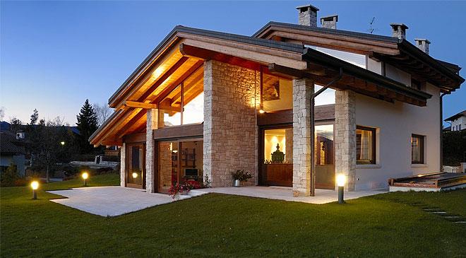 Architettura ecosostenibile le case in legno for Architettura ville moderne