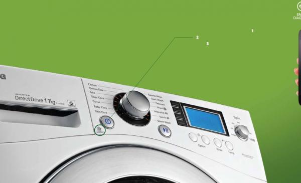 Riparare la lavatrice con lo smartphone? Smart Diagnosis