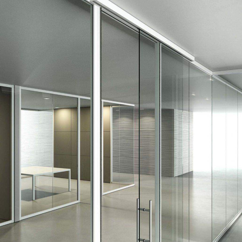 Pareti in vetro per un ambiente elegante e di design for Aziende di design